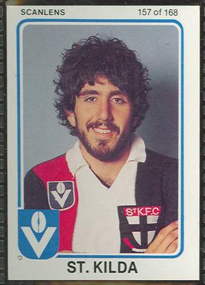 1981 Scanlens (Scanlens) Australian Football Mordecai Bromberg Trade Card