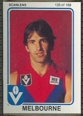 1981 Scanlens (Scanlens) Australian Football Laurie Fowler Trade Card