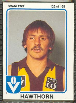 1981 Scanlens (Scanlens) Australian Football Colin Robertson Trade Card