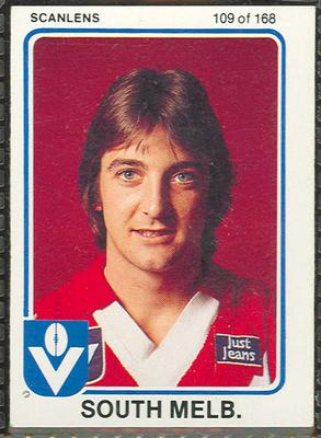 1981 Scanlens (Scanlens) Australian Football Ian Roberts Trade Card