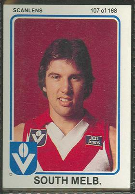 1981 Scanlens (Scanlens) Australian Football Noel Jenkinson Trade Card
