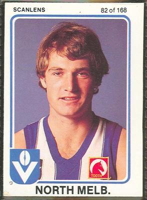 1981 Scanlens (Scanlens) Australian Football John Law Trade Card
