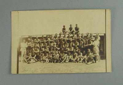 Postcard, image of Port Melbourne Swimming Club - 1914