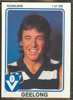 1981 Scanlens (Scanlens) Australian Football Peter Featherby Trade Card