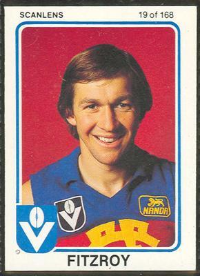 1981 Scanlens (Scanlens) Australian Football Garry Wilson Trade Card