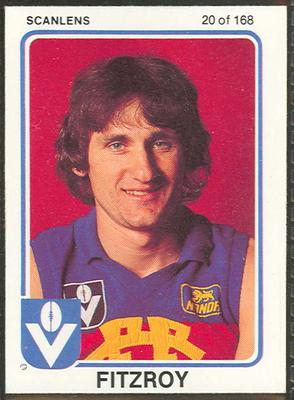 1981 Scanlens (Scanlens) Australian Football Leon Harris Trade Card