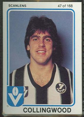 1981 Scanlens (Scanlens) Australian Football Rene Kink Trade Card