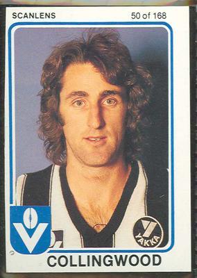 1981 Scanlens (Scanlens) Australian Football Ross Brewer Trade Card