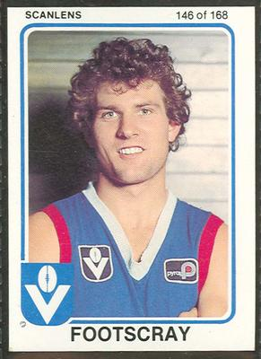 1981 Scanlens (Scanlens) Australian Football Jim Edmond Trade Card
