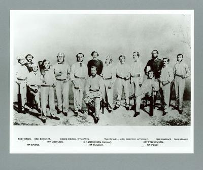 Photograph of All-England Eleven, 1862