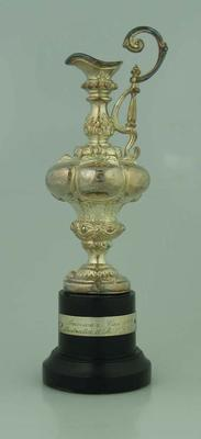 Small Replica of the America's Cup which was won by Australia II in 1983