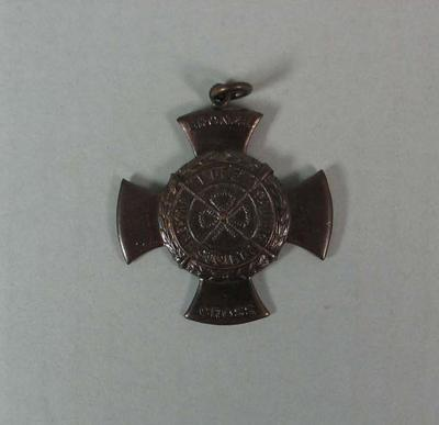 Bronze Cross awarded to Jane Harvey, 1953