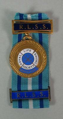 Award of Merit and Bar awarded to Jane Harvey, 1954 and 1955