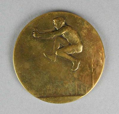 World Record medal awarded to Nick Winter,1924 Paris Olympic Games