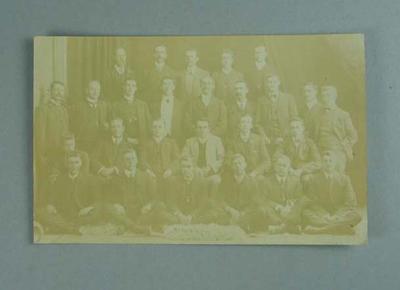 Postcard, image of Australasian Amateur Championships participants - Perth, 1908