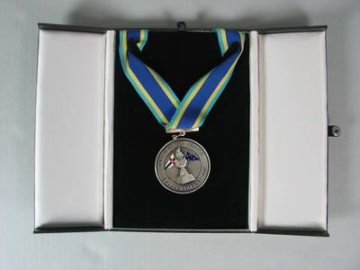 Unawarded Tattersall's Cup keepsake medal in presentation box