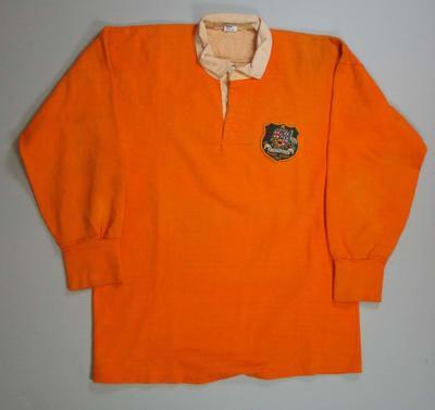 Wallaby jersey worn by Greg Davis from the Drummoyne Club, 1967