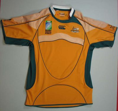 Brand new Rugby World Cup Wallabies jersey, 2007