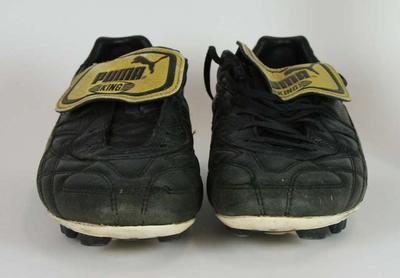 Boots worn by Simon Black, c. 1997-2006.; Clothing or accessories; N2013.68.3