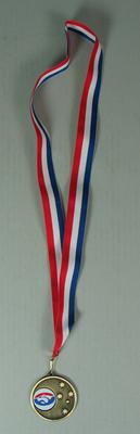 Unawarded commemorative medallion minted for presentation to the Western Bulldogs Football Club, 2013