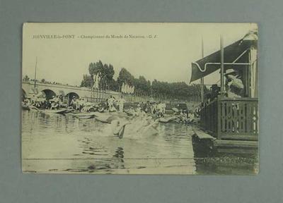 Postcard, image of Championnat du Monde de Natation - Joinville-le-Pont, 1912