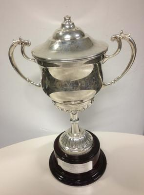 VCA 1st XI Premiers trophy presented to Melbourne Cricket Club, 2012/13
