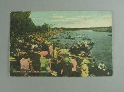 Postcard, image of Henley on the Yarra