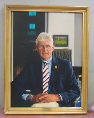 Portrait of Paul Sheahan by Angus McDonald, 2013; Artwork; M16760