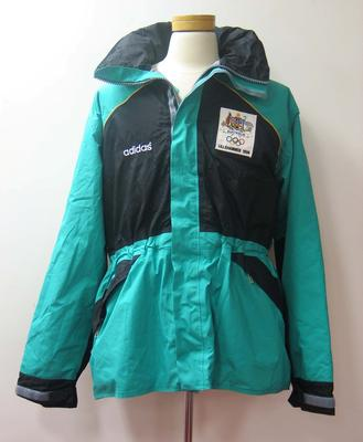Jacket issued to Robert Evans Jr, Australian team uniform, Lillehammer Winter Olympic Games, 1994