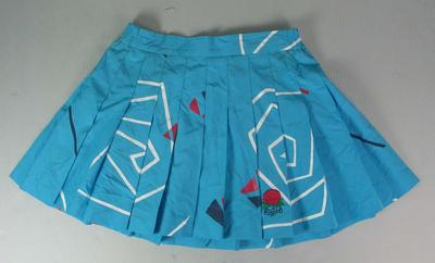 New South Wales Netball Association skirt worn by Liz Ellis, c. 1990-1995; Clothing or accessories; N2013.92.12