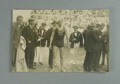 Postcard, image of Hakan Malmroth - 1920 Olympic Games; Documents and books; 1986.1304.226