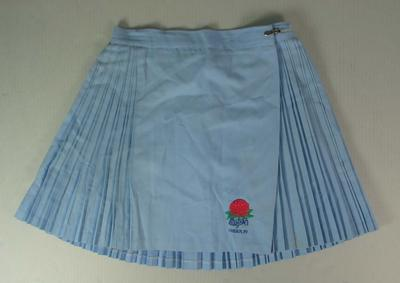 Netball skirt worn by Liz Ellis, New South Wales Under19s netball team, c. 1990; Clothing or accessories; N2013.92.14