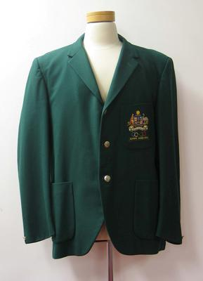 Blazer worn by William Northam, Tokyo Olympic Games, 1964