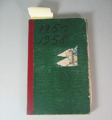 Federal Football League Game Register, 1957-1958