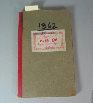 Federal Football League Game Register, 1962
