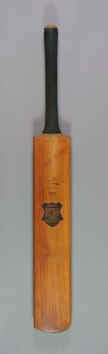 Cricket bat, Super Driver - Specially Selected, c1930s-40s
