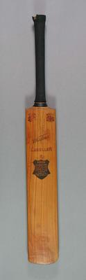 Cricket bat, Wisden Exceller, c1930s-40s