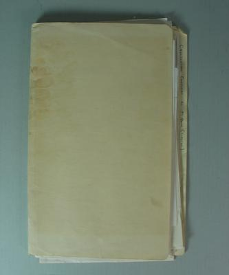 Federal Football League Documents, Cheltenham F.C. Complaint Regarding M. Quinn of Clayton F.C.