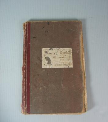 Federal Football League Minute Book, 1922-1925