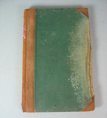 Federal Football League Minute Book, 1937