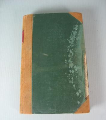 Federal Football League Minute Book, 1946-1952