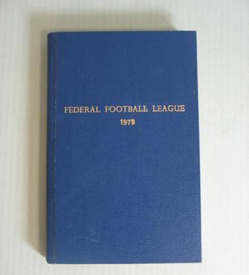 Federal Football League Record Book, 1979