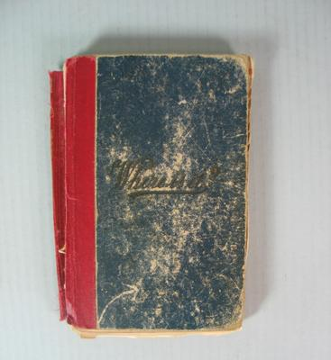 Federal Football League Tribunal Book, 1931-1968.