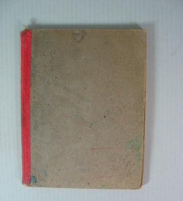 Federal Football League Officials Book, 1954-1957