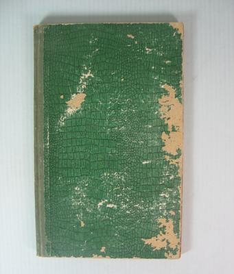 Federal Football League Delegates Attendance Book, 1952-1955