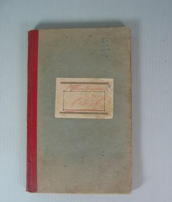 Federal Football League Attendance Book, 1946-1951; Documents and books; 2002.3854.207