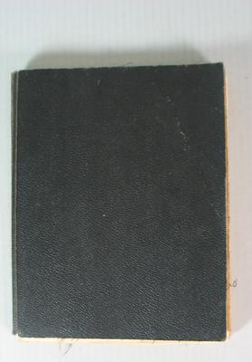 Federal Football League Score Book, 1973-1981