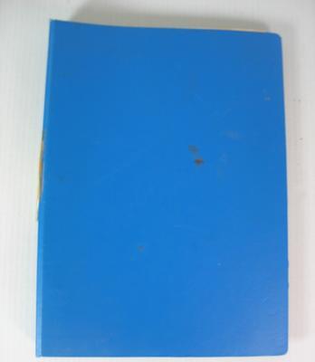 Federal Football League Clearance Folder, 1980-1981.