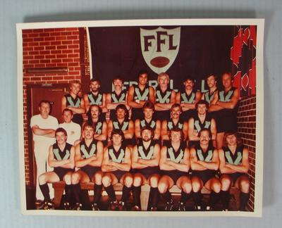 Federal Football League Representative Team Photograph, 1980