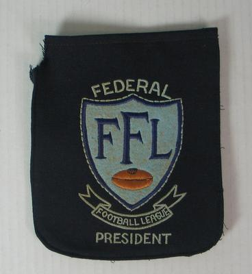 Blazer pocket, Federal Football League President